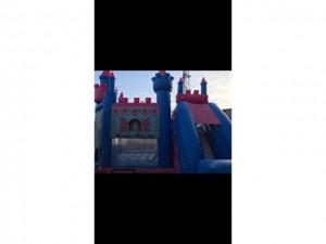 Prinsessenkasteel 6m x 6m met glijbaan